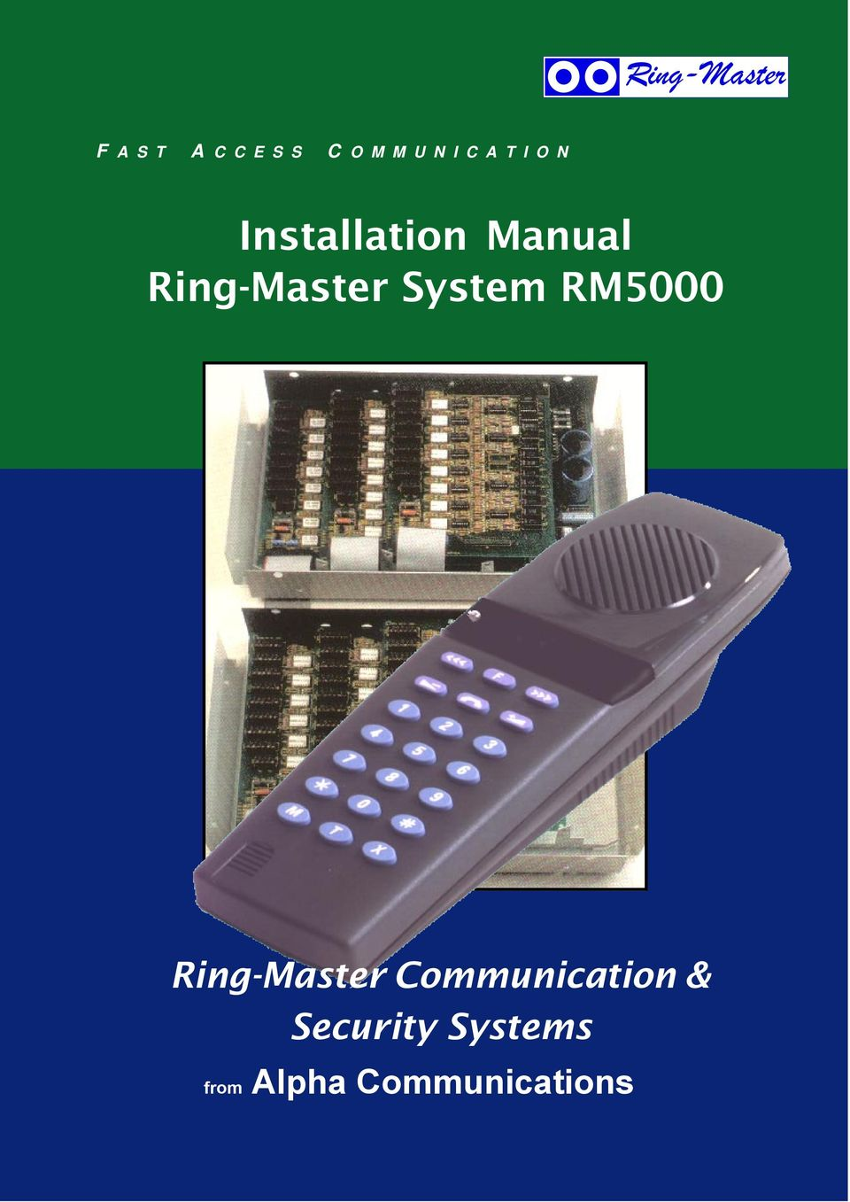 Installation Manual System Communication