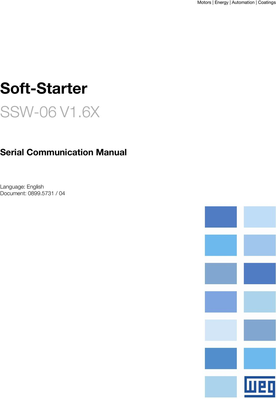 6X Serial Communication Manual