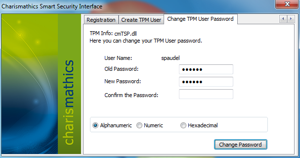 Creating a TPM User only works on systems where a TPM User for the current user does not yet exist A TPM User can only be created for the currently logged in windows user. 4.