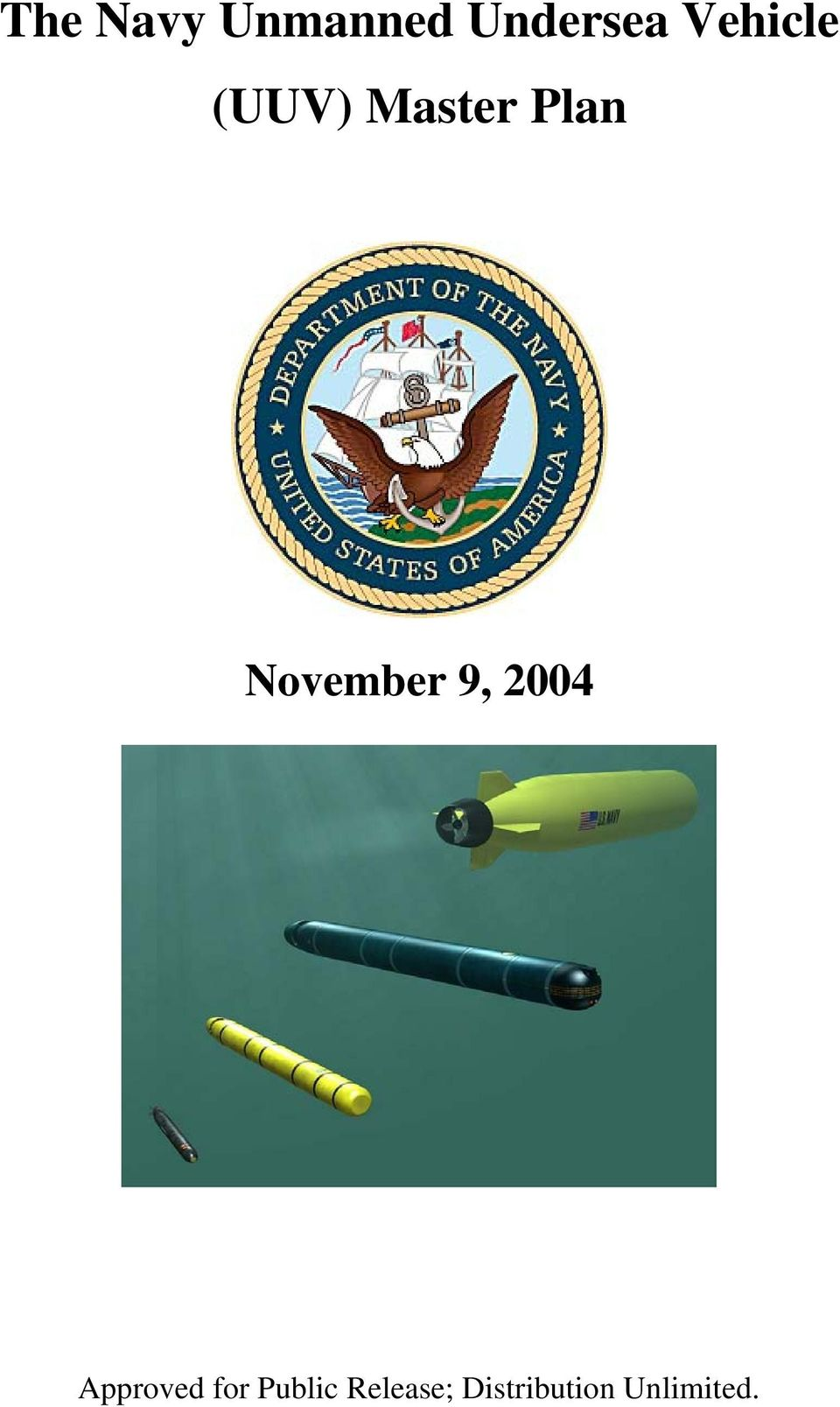 November 9, 2004 Approved for