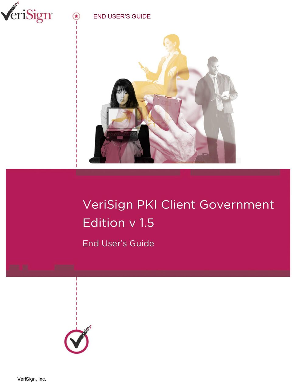 5 End User s Guide VeriSign PKI Client