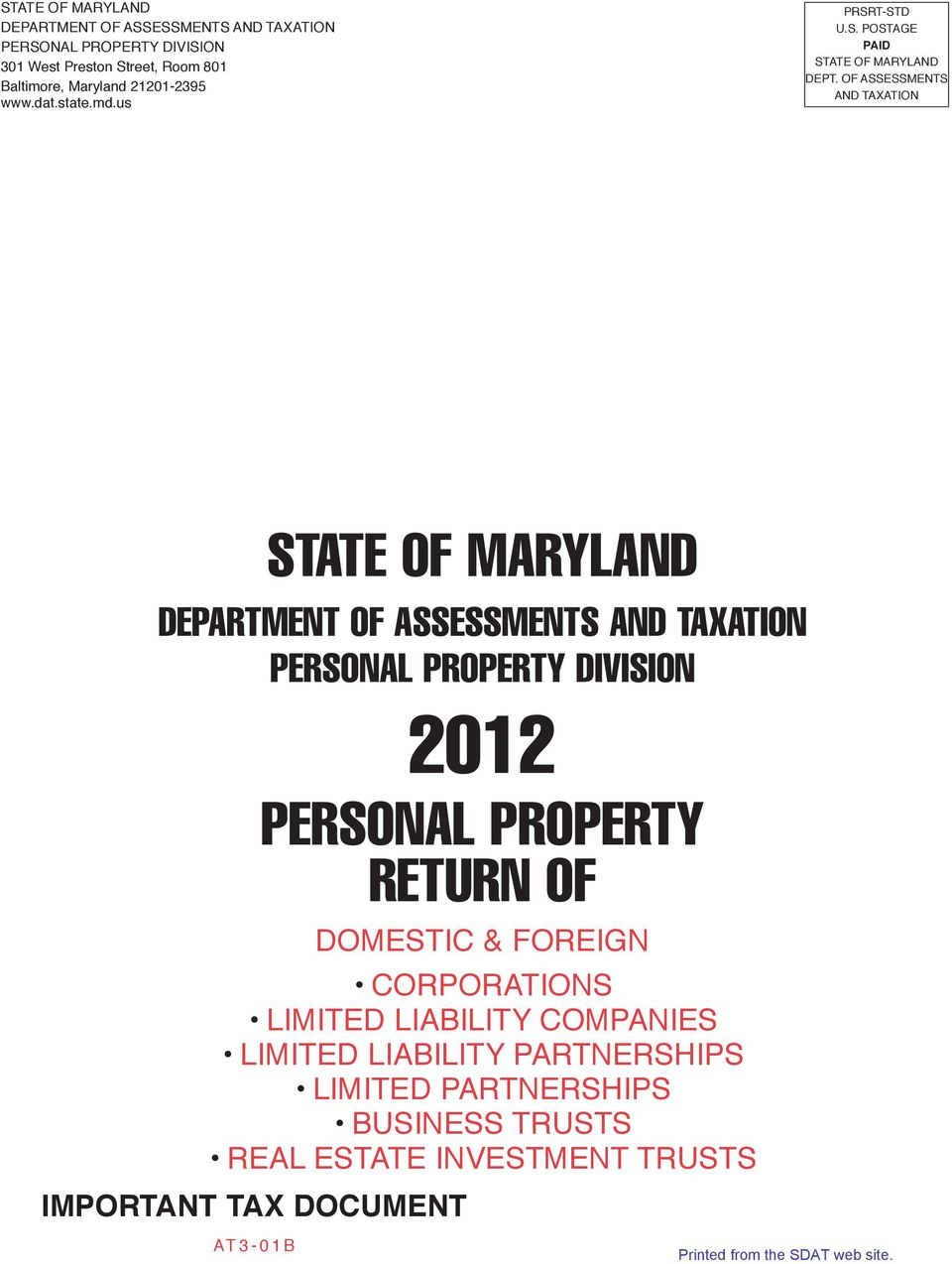 Maryland tax assessment property search