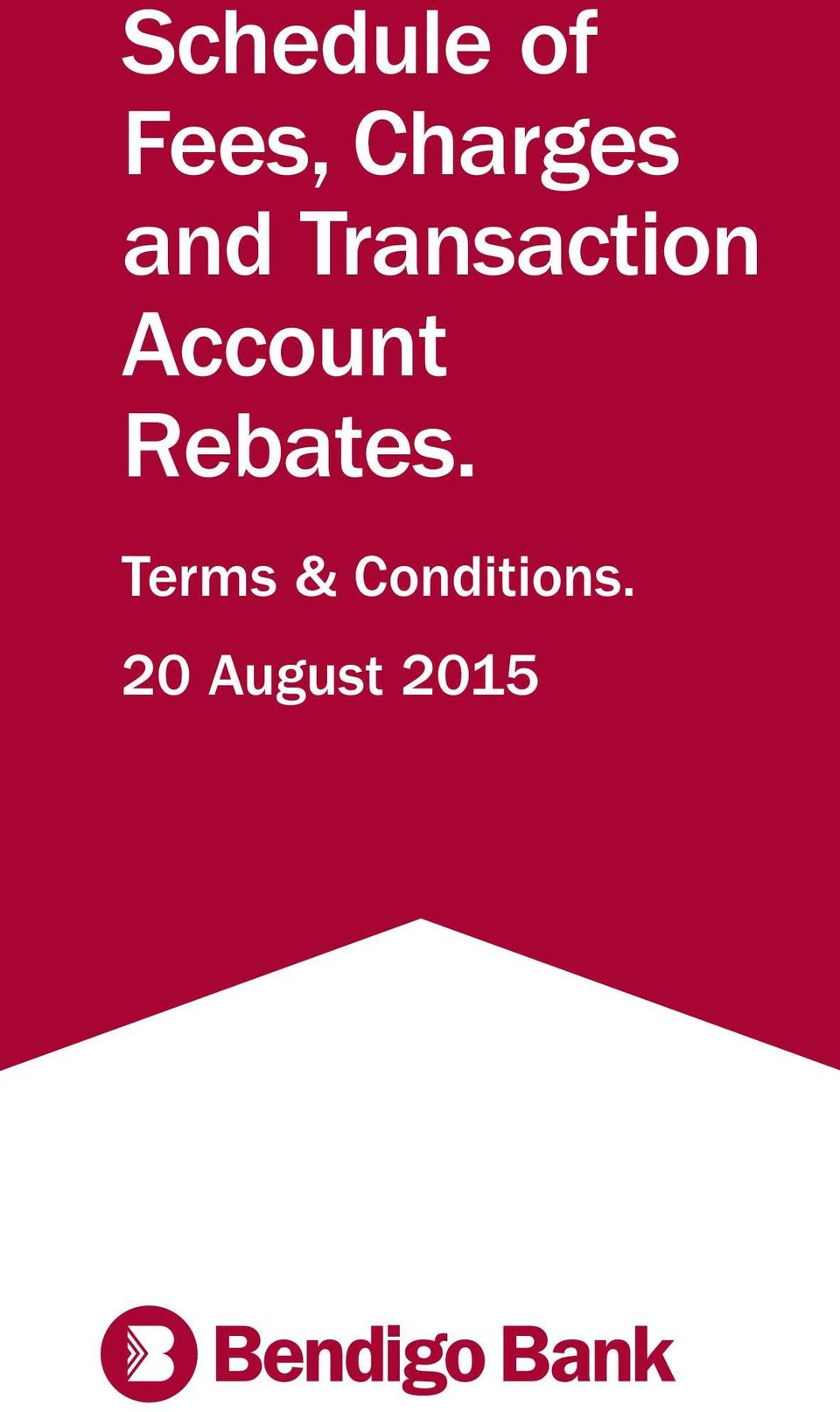 Rebates. Terms & Conditions.