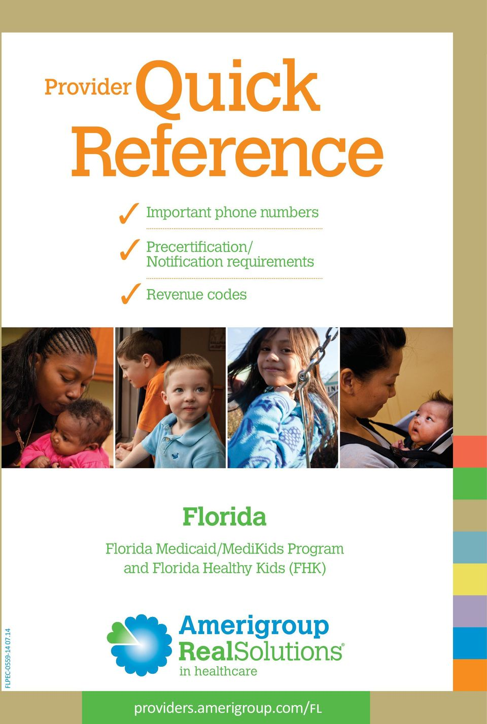 codes Florida Florida Medicaid/MediKids Program and