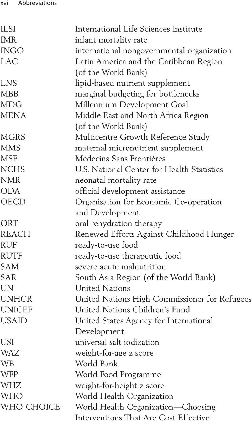 bottlenecks Millennium Development Goal Middle East and North Africa Region (of the World Bank) Multicentre Growth Reference St