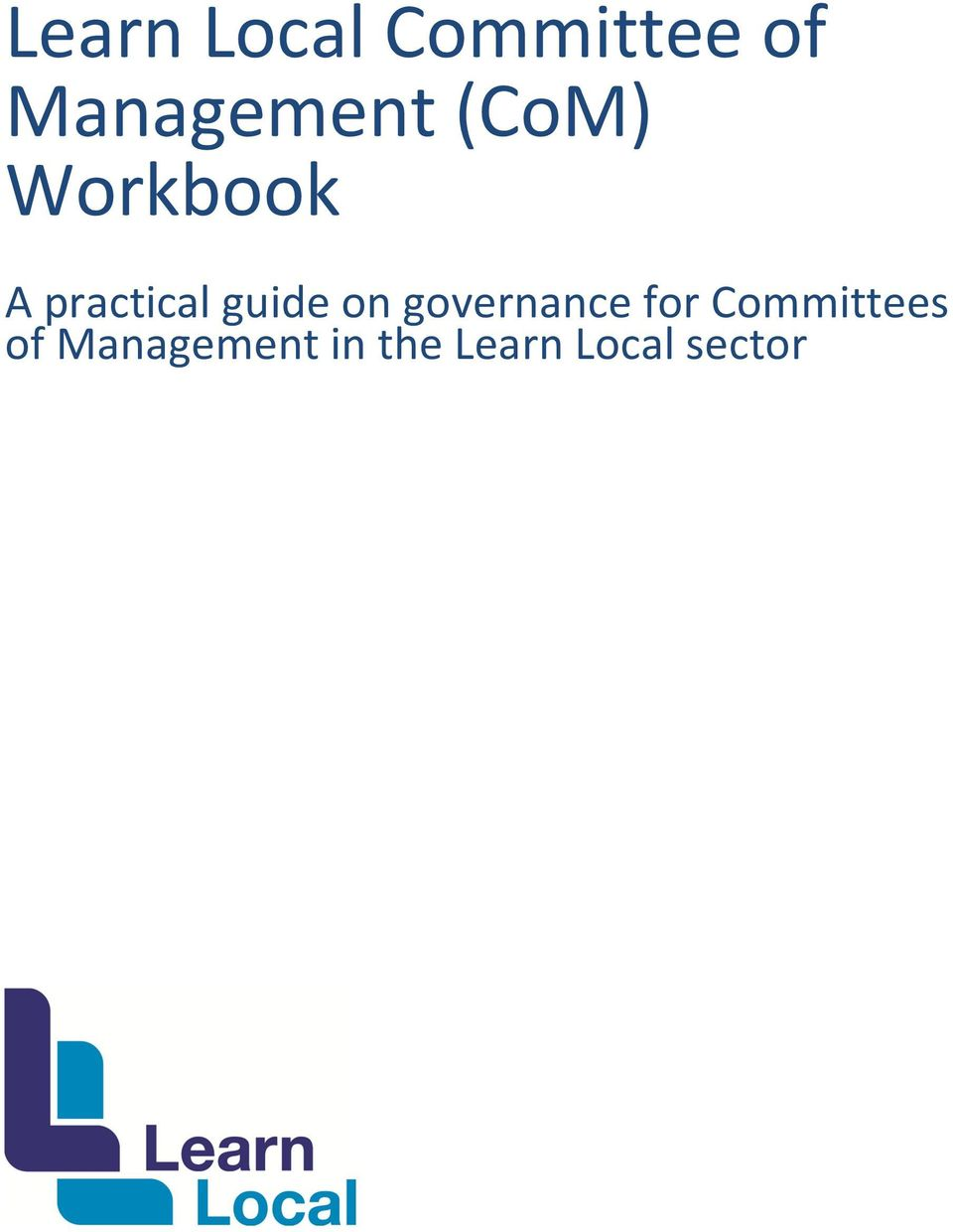 practical guide on governance for