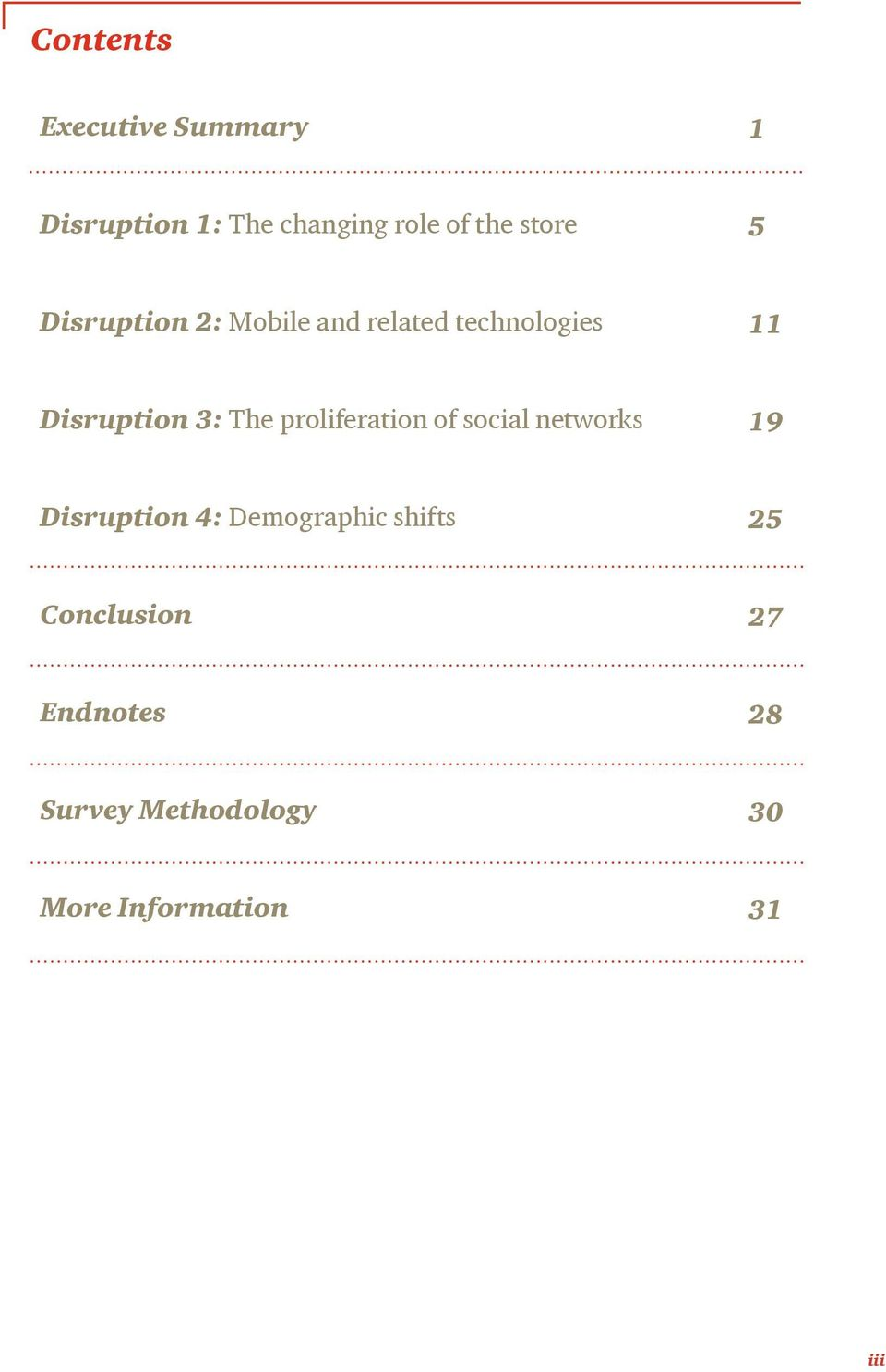 The proliferation of social networks 19 Disruption 4: Demographic