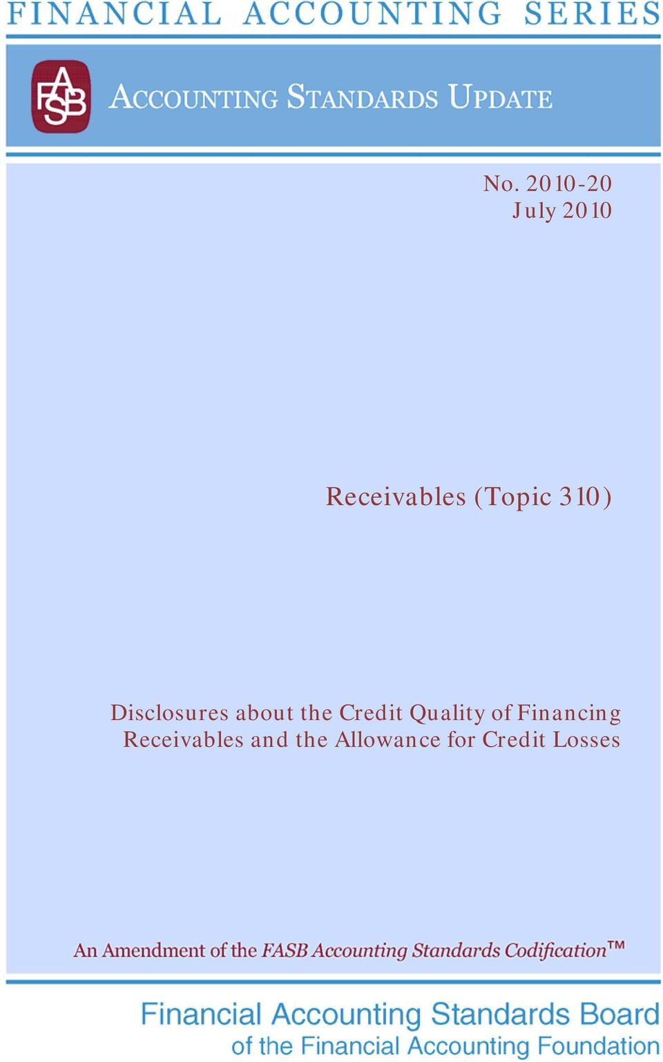 Credit Quality of Receivables and
