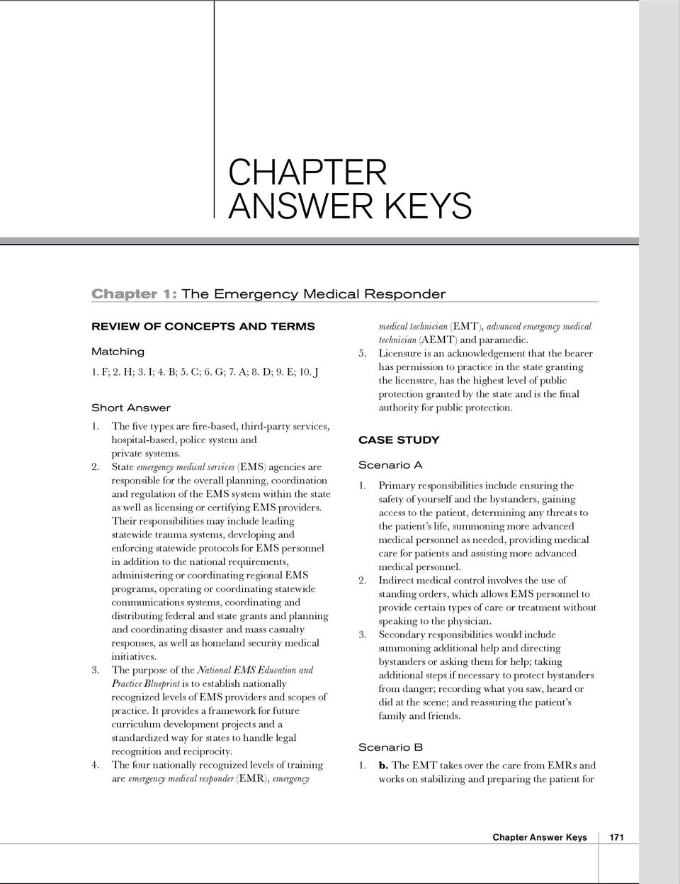 Chapter Chapter 1 The Emergency Medical Responder PDF – Chapter 8 Special Senses Worksheet Answers