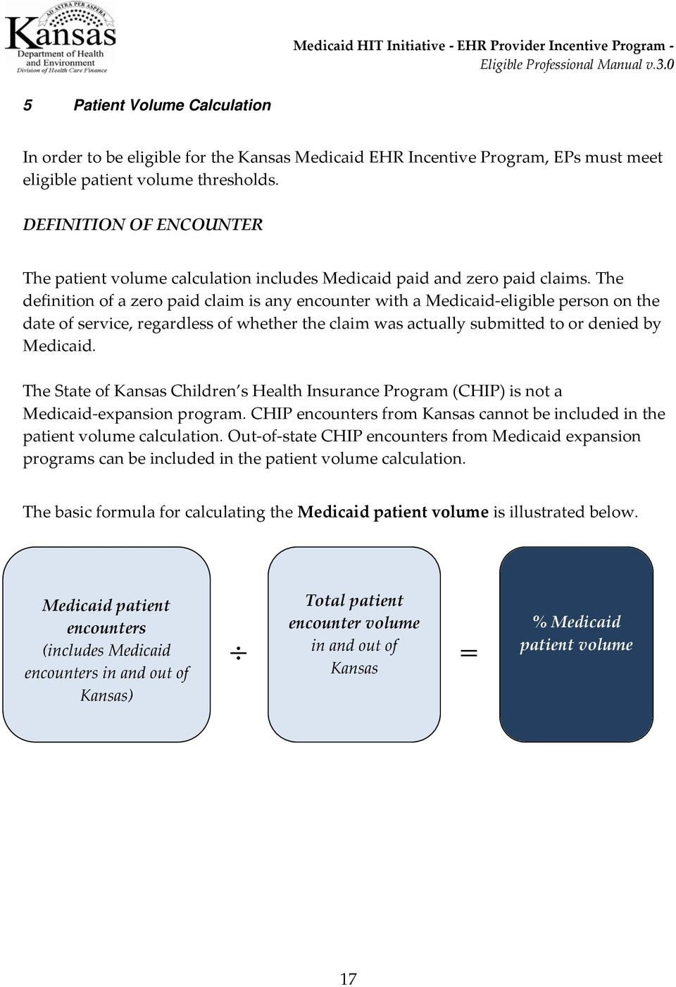 The definition of a zero paid claim is any encounter with a Medicaid-eligible person on the date of service, regardless of whether the claim was actually submitted to or denied by Medicaid.