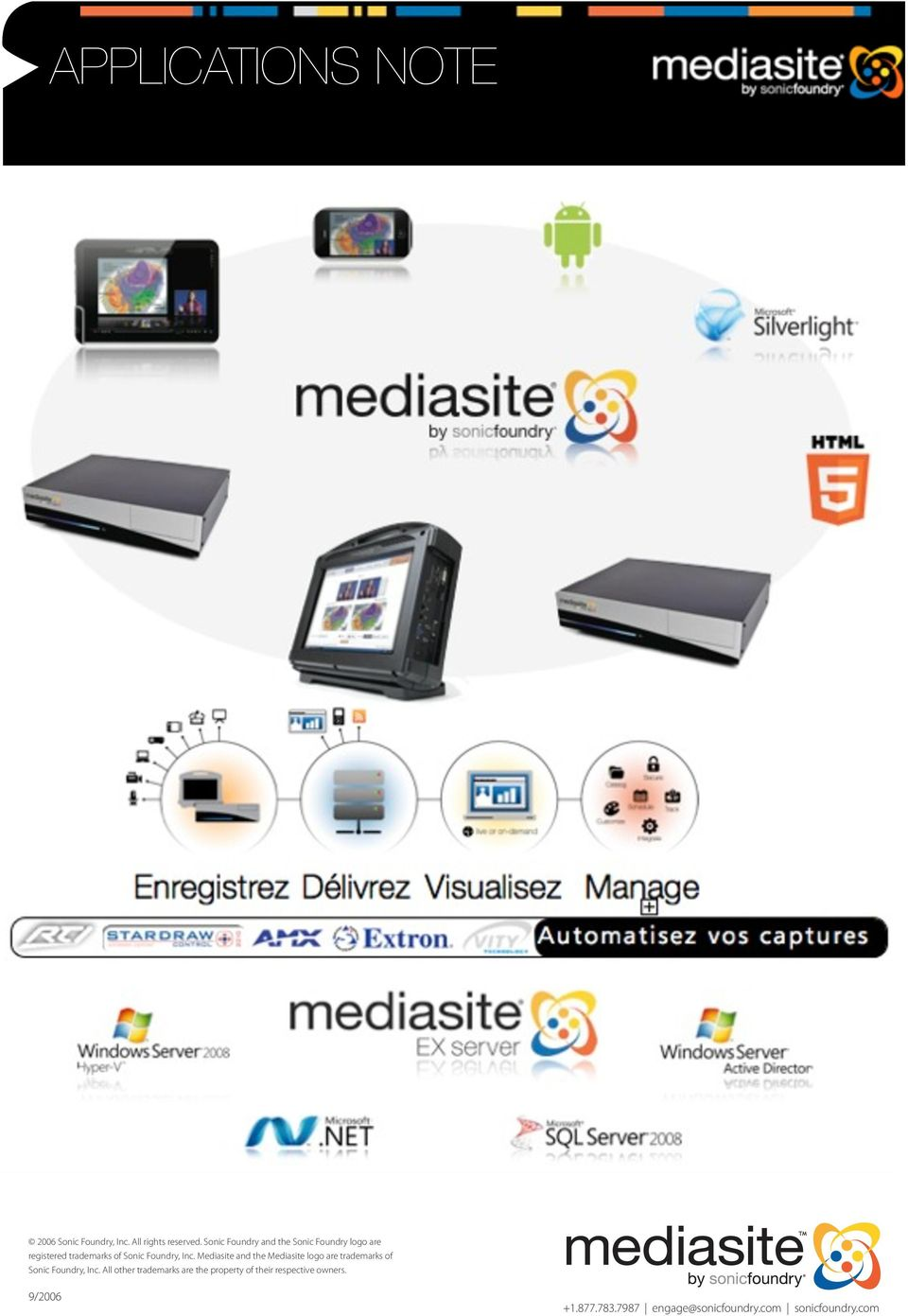 Mediasite External Data Access Service (EDAS) is a web services-based development tool that gives enterprise applications like your course management, learning management or enterprise content