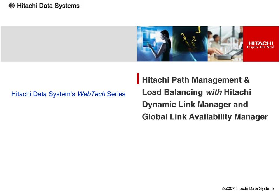 Balancing with Hitachi Dynamic Link