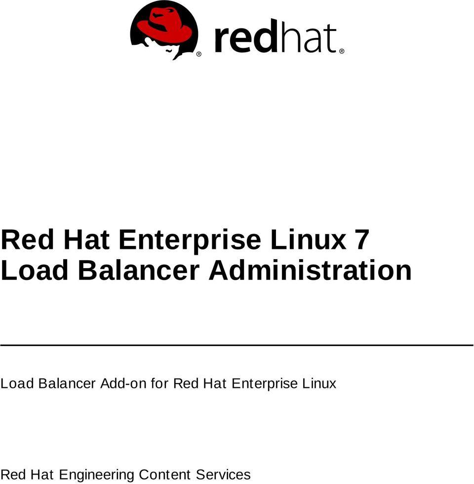 Balancer Add-on for Red Hat