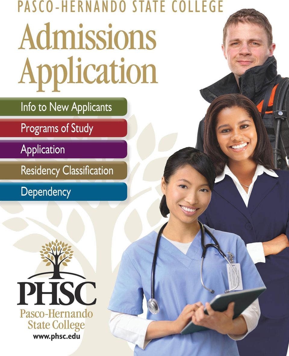 Applicants Programs of Study