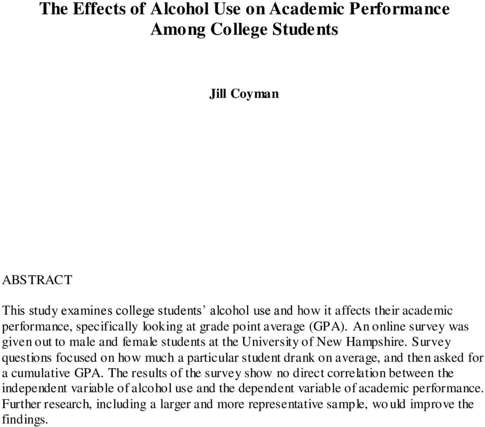 academic performance and the use of - the effects of excessive computer usage to the academic performance of 1st and 2nd year nursing students thesis statement: although technology and particularly computers have helped us a lot in the innovation our world and making our work more efficient and faster, the excessive use of computer among students has become a recent problem .