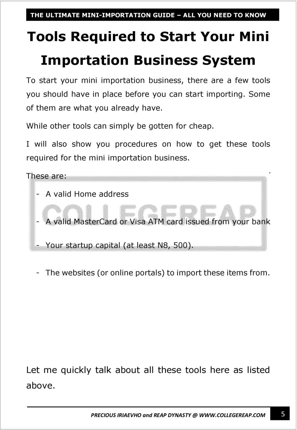 Ultimate mini importation guide pdf i will also show you procedures on how to get these tools required for the mini fandeluxe Image collections