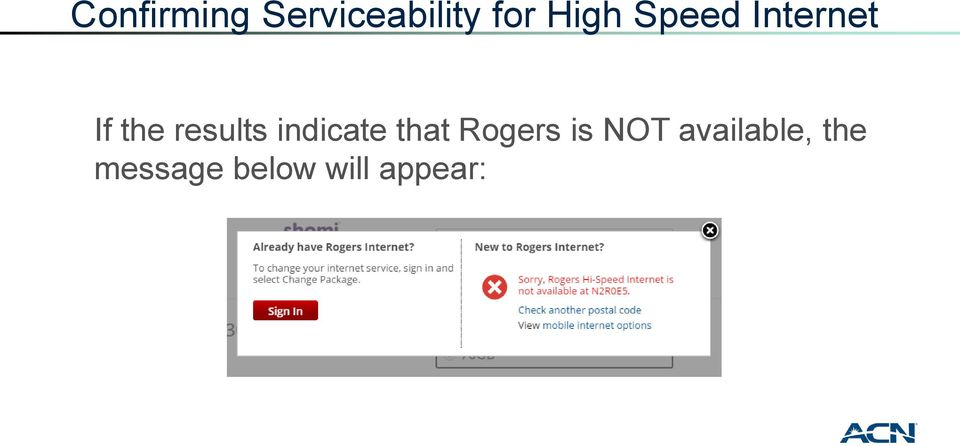 results indicate that Rogers is
