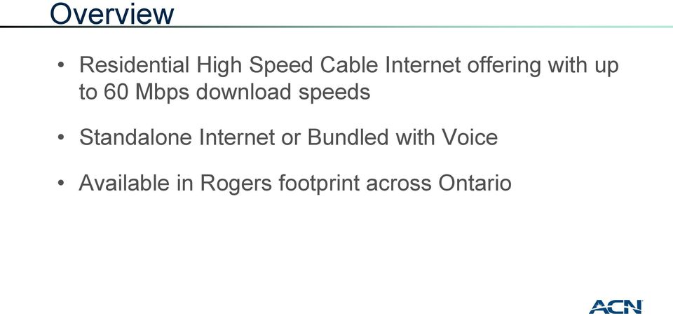 download speeds Standalone Internet or