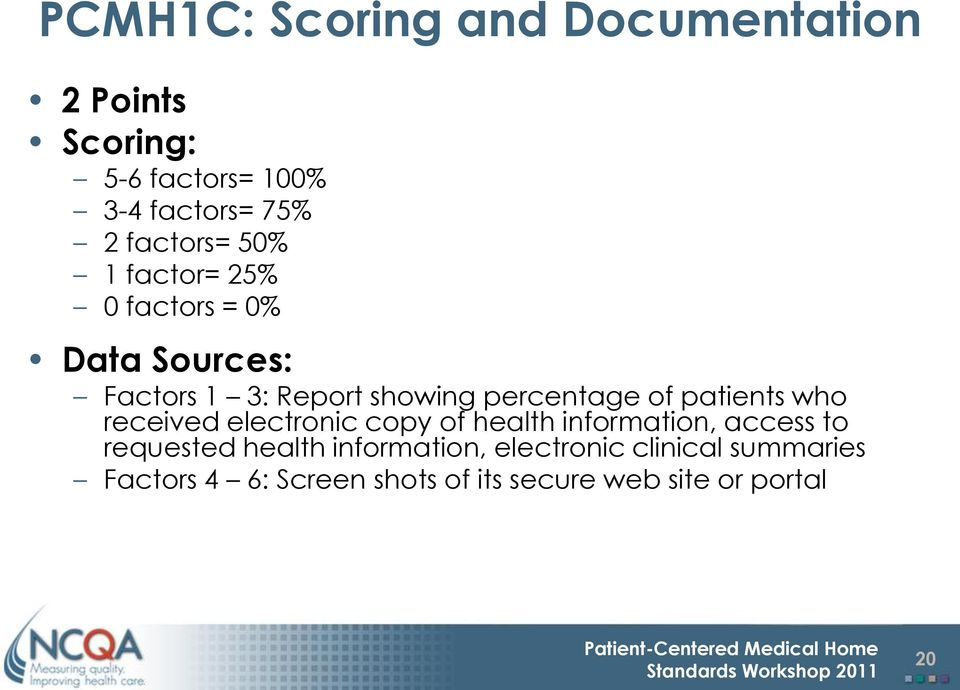 of patients who received electronic copy of health information, access to requested health