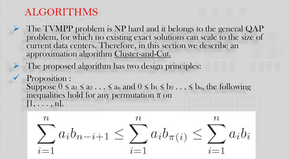 Therefore, in this section we describe an approximation algorithm Cluster-and-Cut.