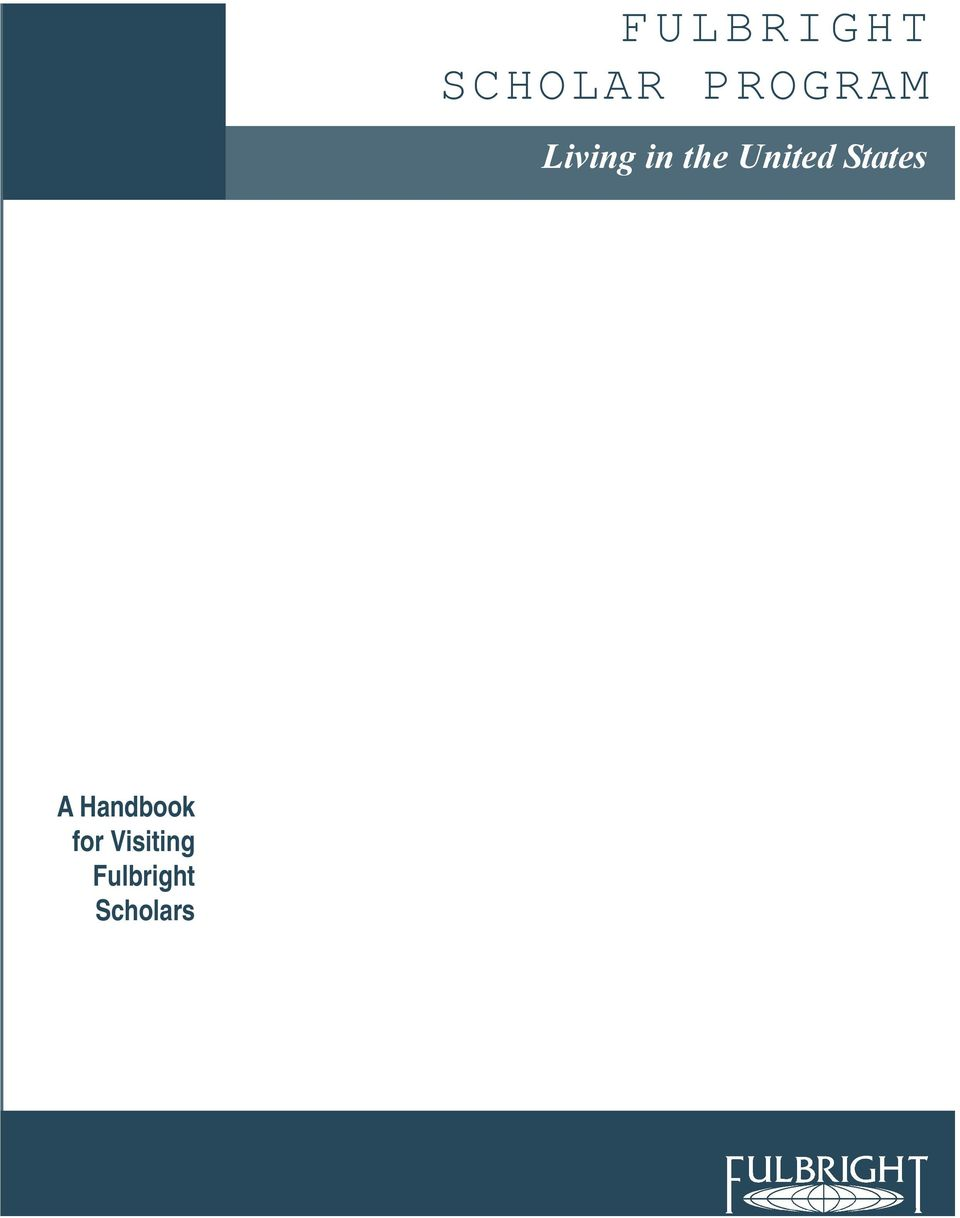 the United States A Handbook