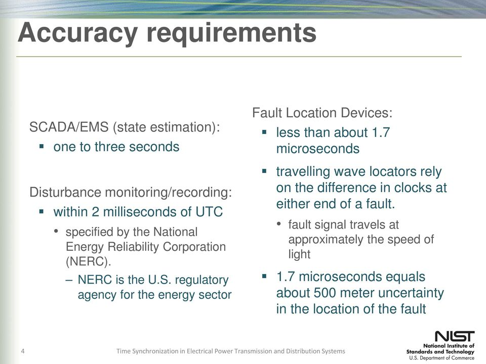 regulatory agency for the energy sector Fault Location Devices: less than about 1.