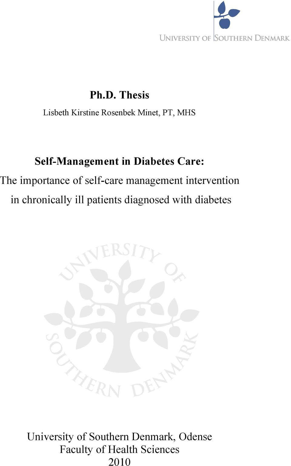 Phd thesis on diabetes.pdf