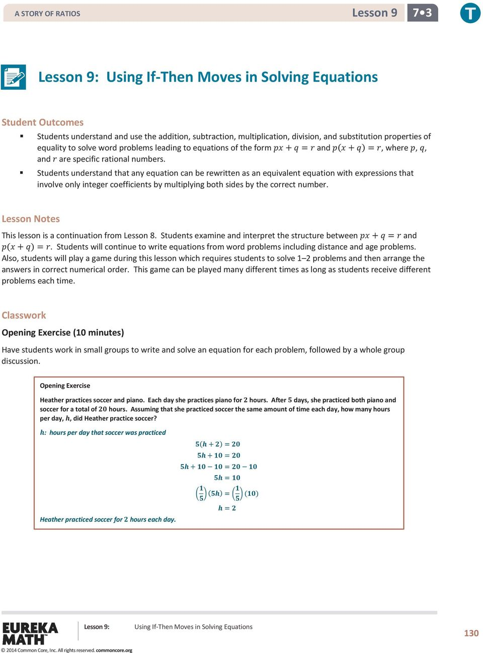 Solving Equations With Variables On Both Sides Worksheet – Solving Multi Step Equations Worksheet