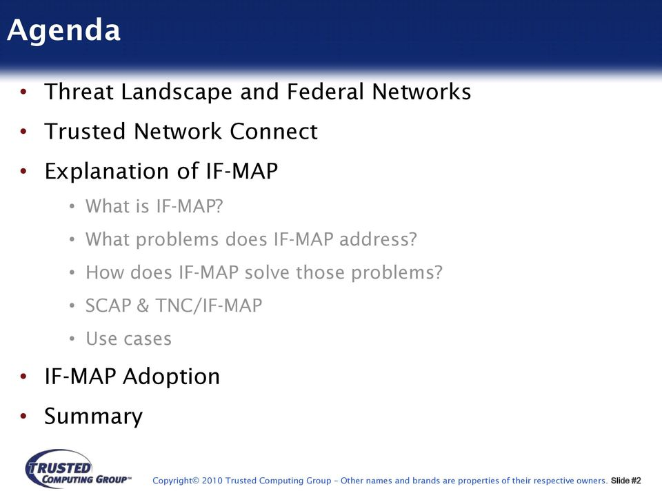 How does IF-MAP solve those problems?