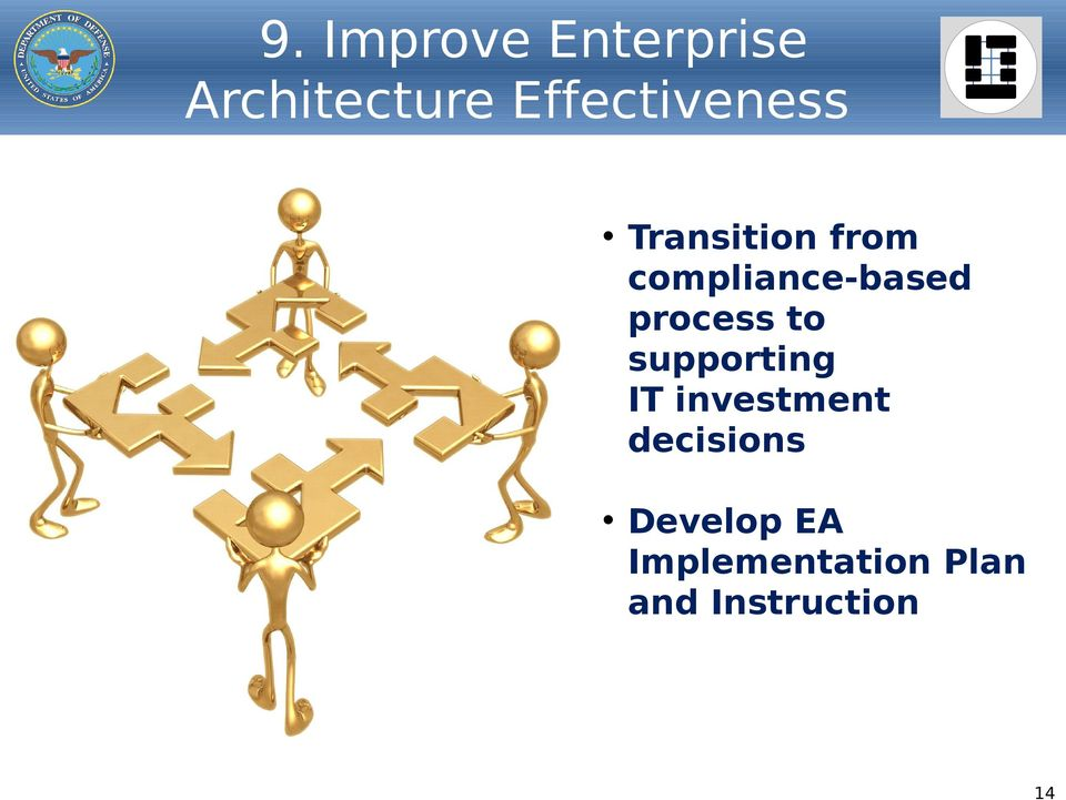 compliance-based process to supporting IT