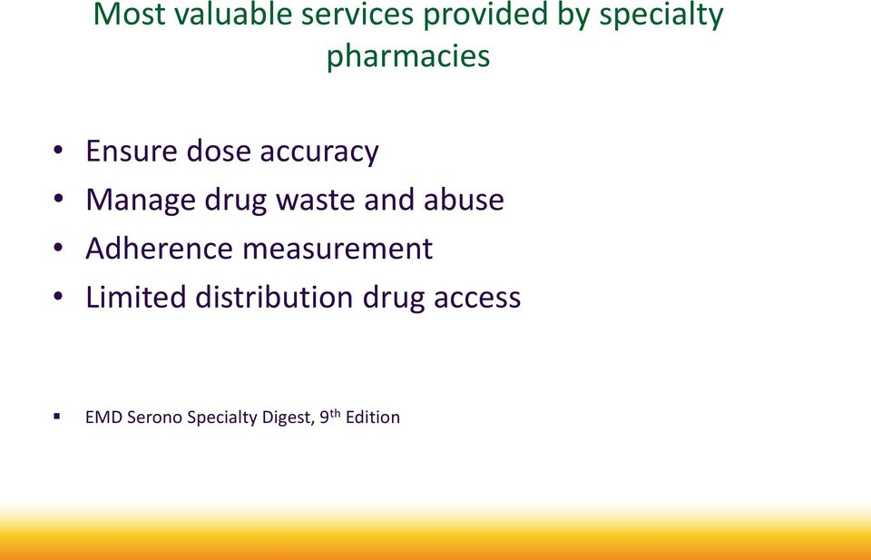 and abuse Adherence measurement Limited