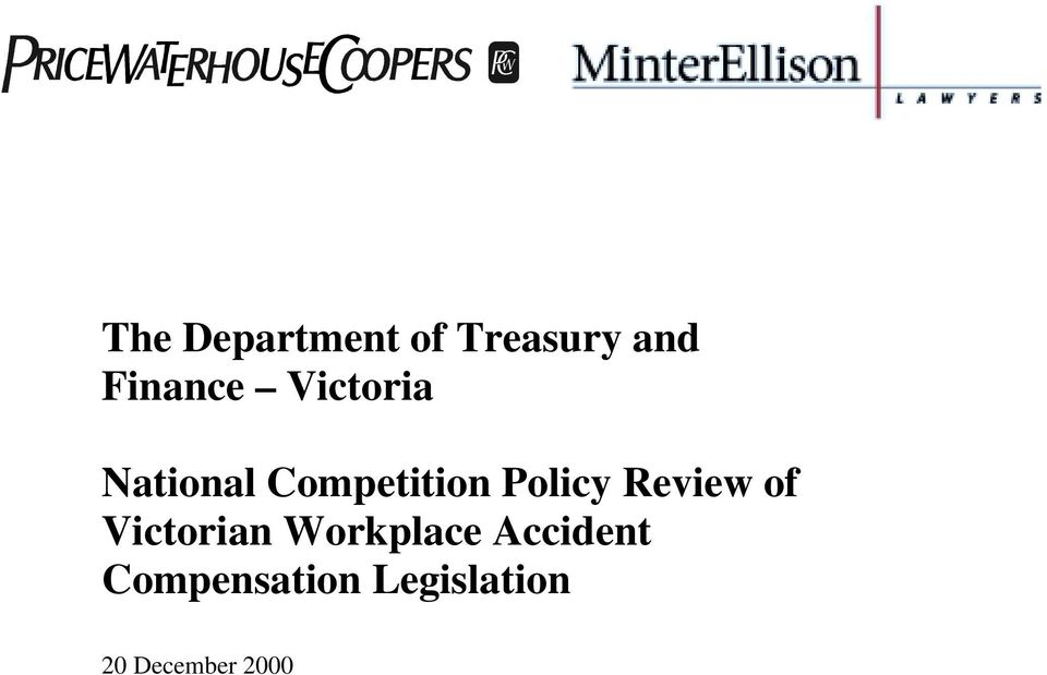Review of Victorian Workplace Accident