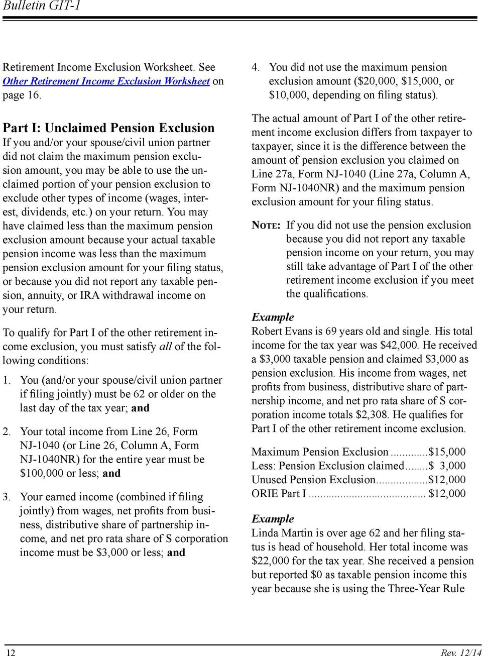 exclusion to exclude other types of income (wages, interest, dividends, etc.) on your return.