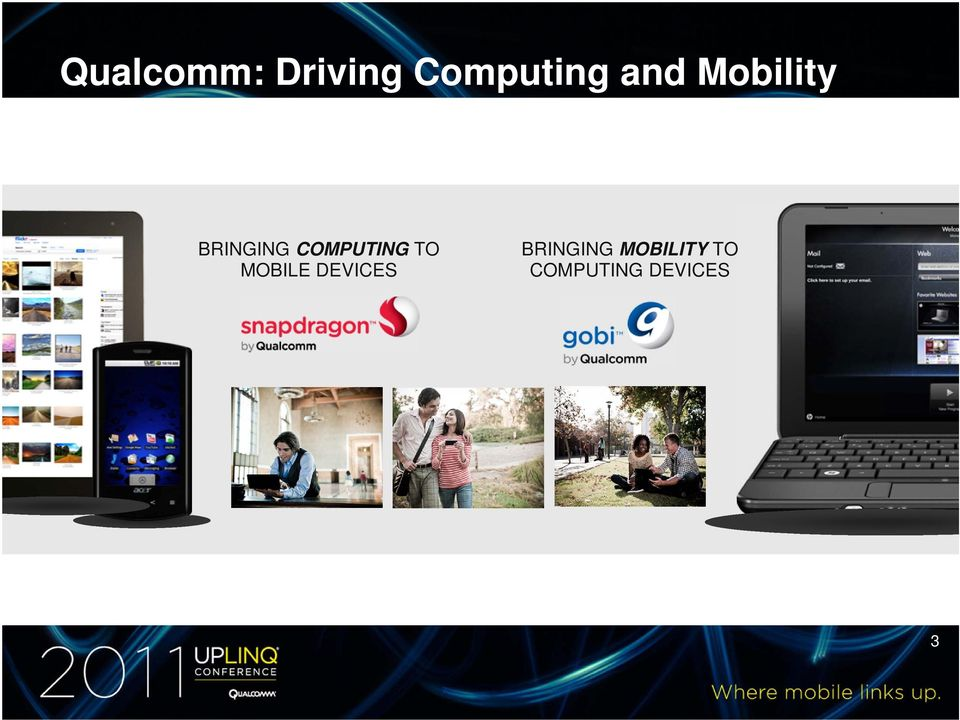 COMPUTING TO MOBILE DEVICES