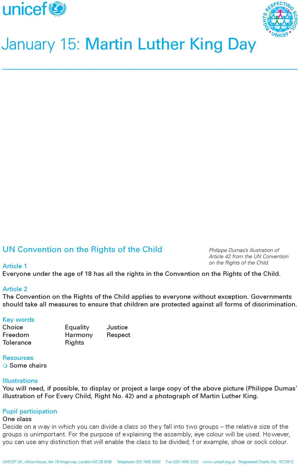 Governments should take all measures to ensure that children are protected against all forms of discrimination.