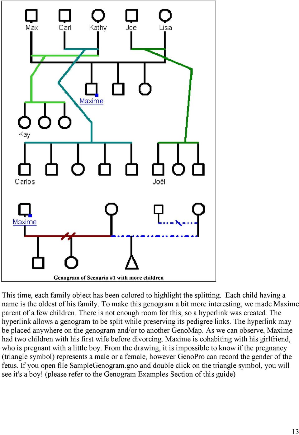 Genogram guide helpful hints to using genopro pdf the hyperlink allows a genogram to be split while preserving its pedigree links the hyperlink biocorpaavc Image collections
