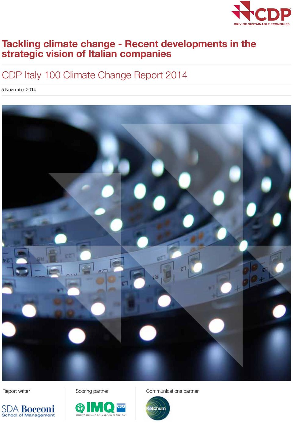 Italy 100 Climate Change Report 2014 5 November
