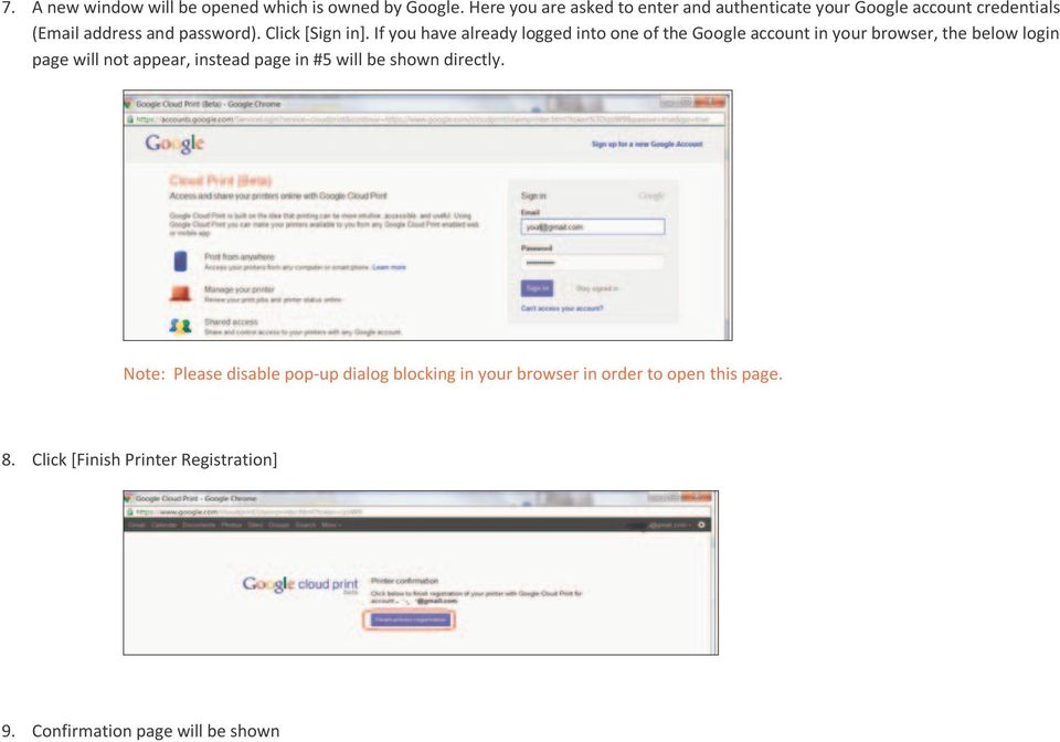 If you have already logged into one of the Google account in your browser, the below login page will not appear, instead