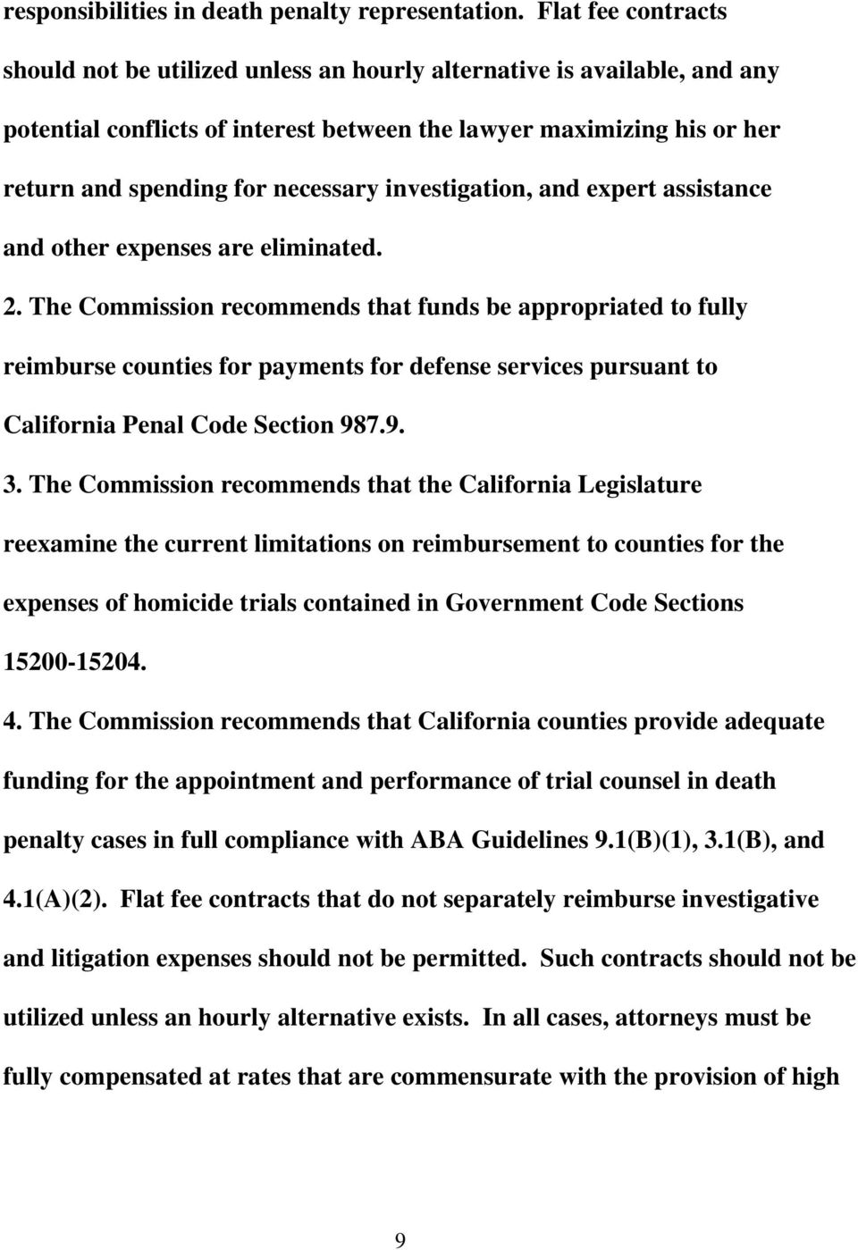 investigation, and expert assistance and other expenses are eliminated. 2.