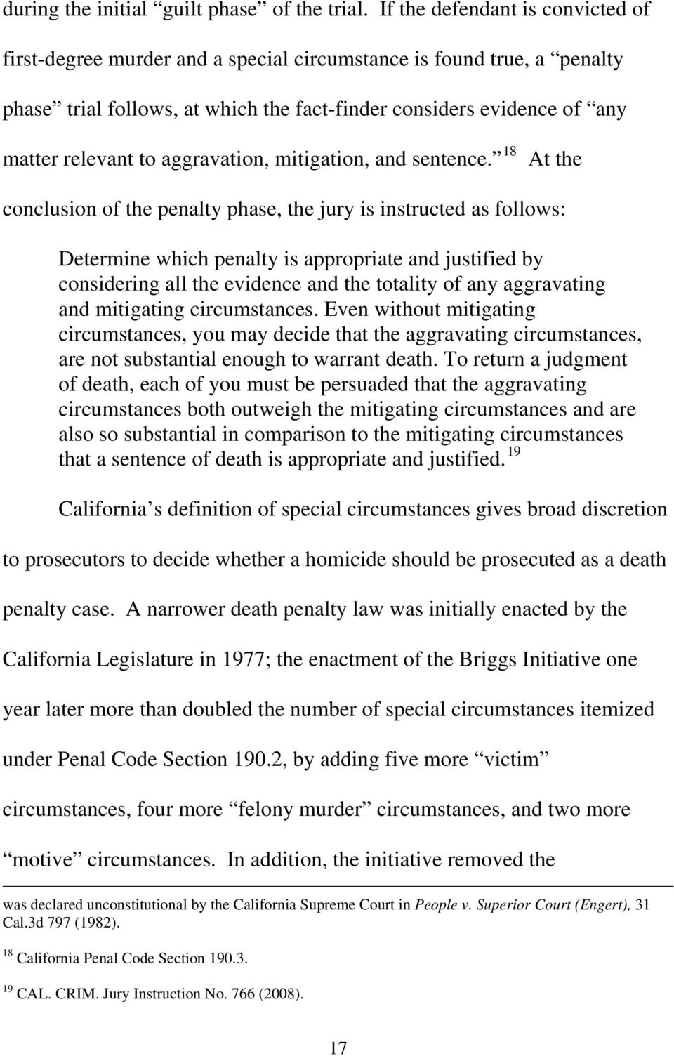 aggravation, mitigation, and sentence.
