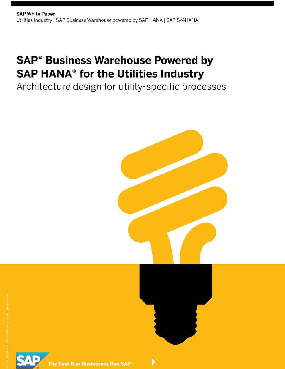 Business Warehouse Powered by SAP HANA for the