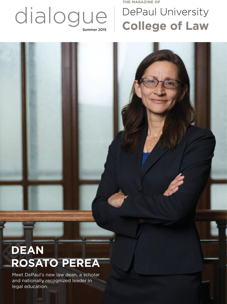 Meet DePaul s new law dean, a scholar and