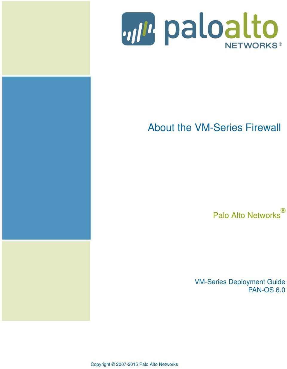 Networks VM-Series