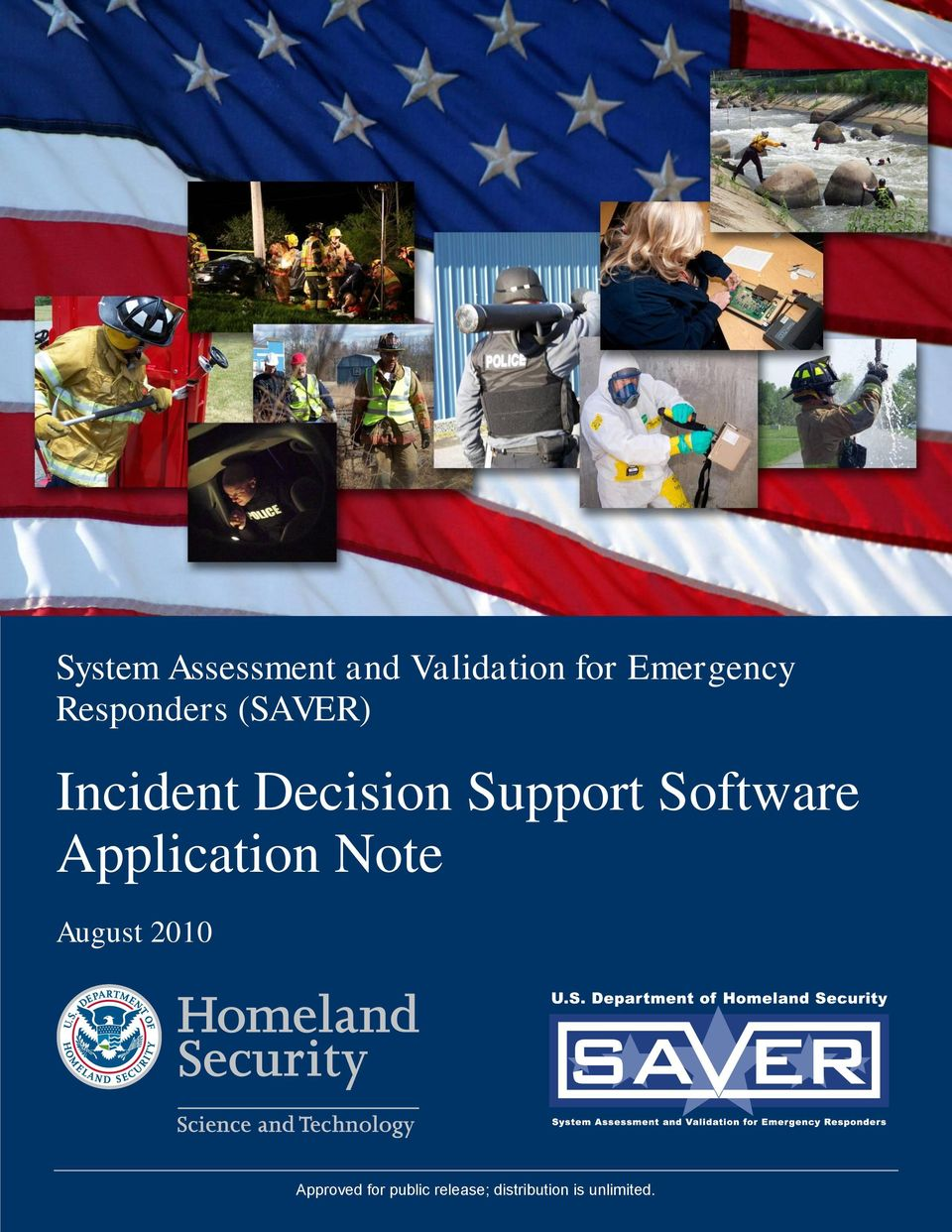 Software Application Note August 2010 Approved