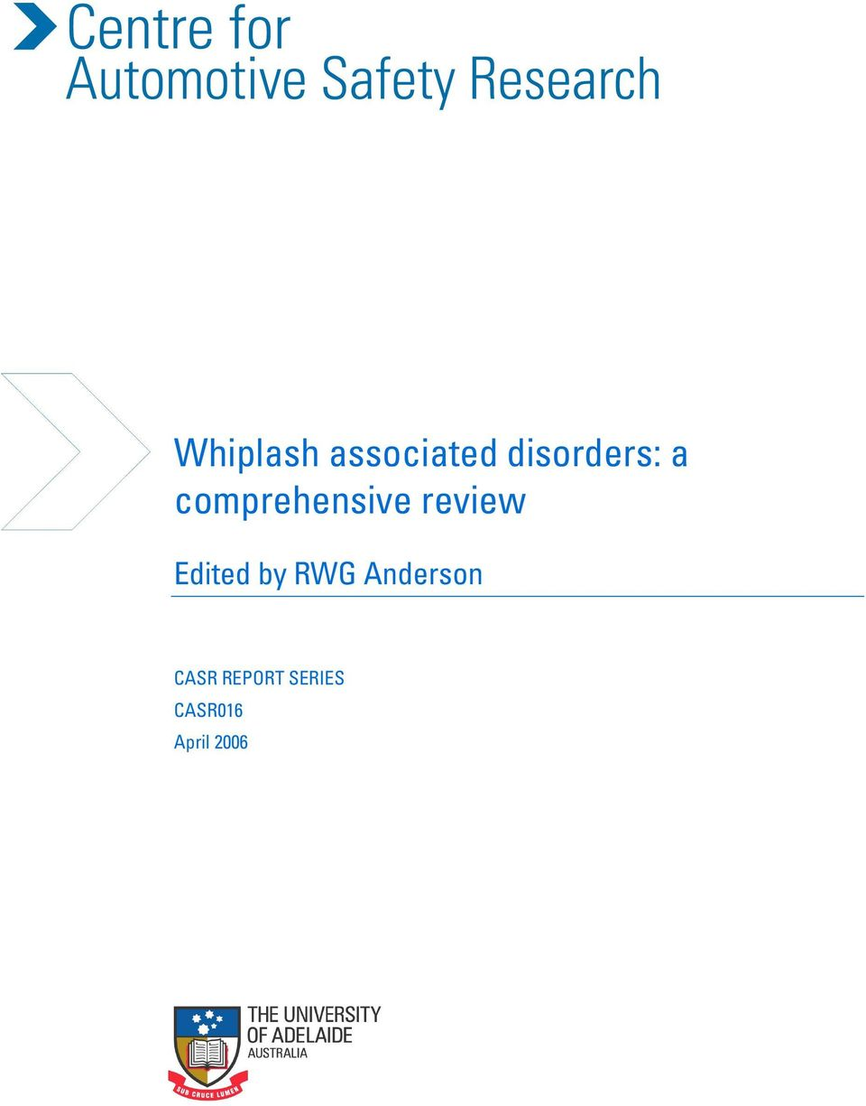 review Edited by RWG