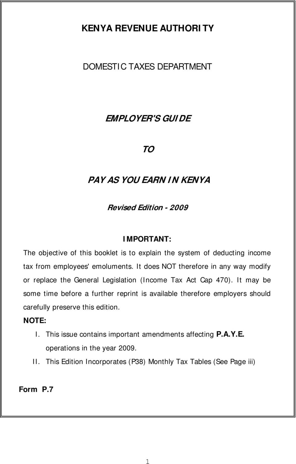 employer s guide pay as you earn in pdf it does not therefore in any way modify or replace the general legislation income tax