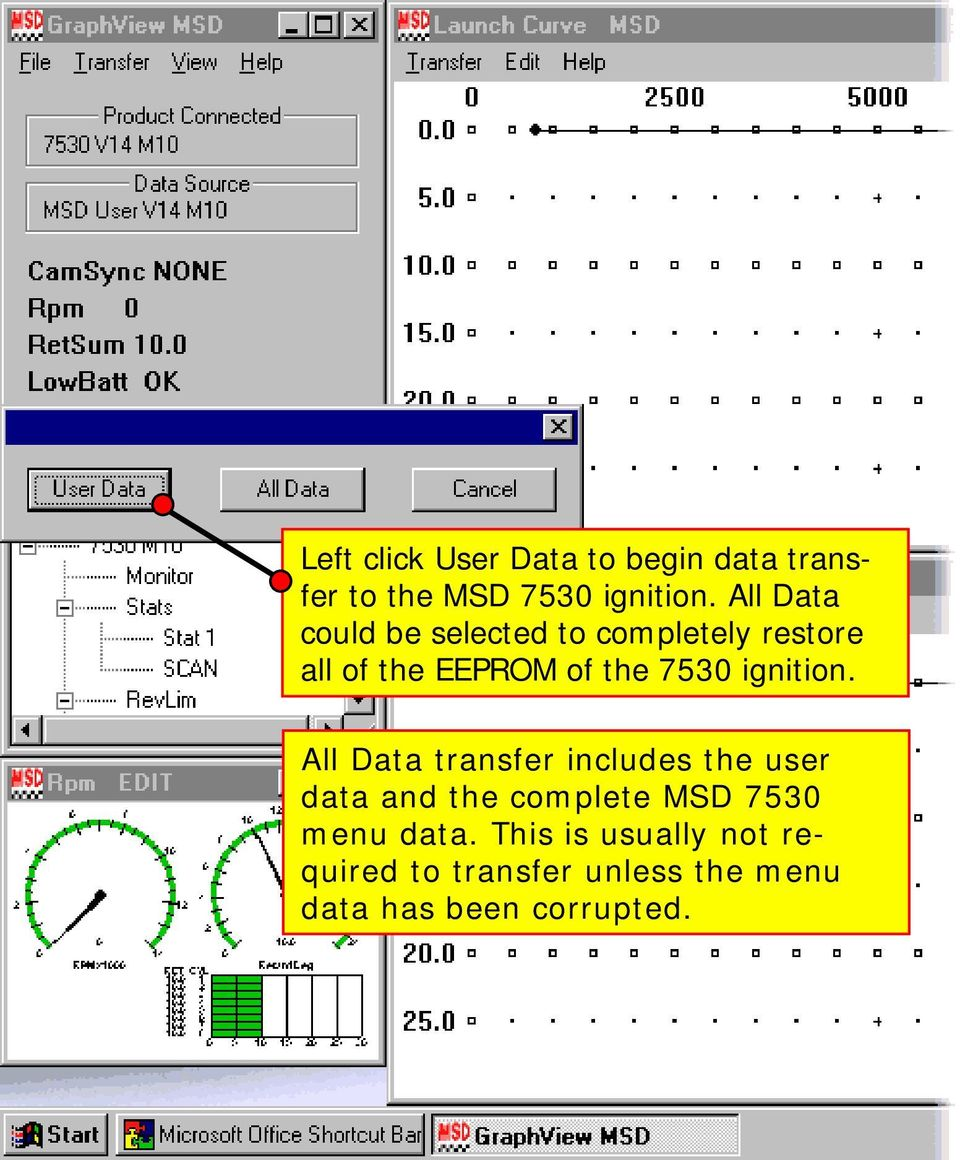 basic operation and function of the msd pro data plus best viewed ignition