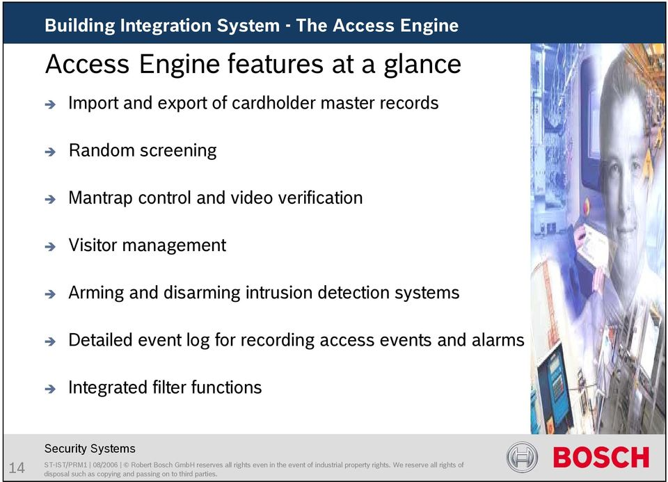 management Arming and disarming intrusion detection systems Detailed