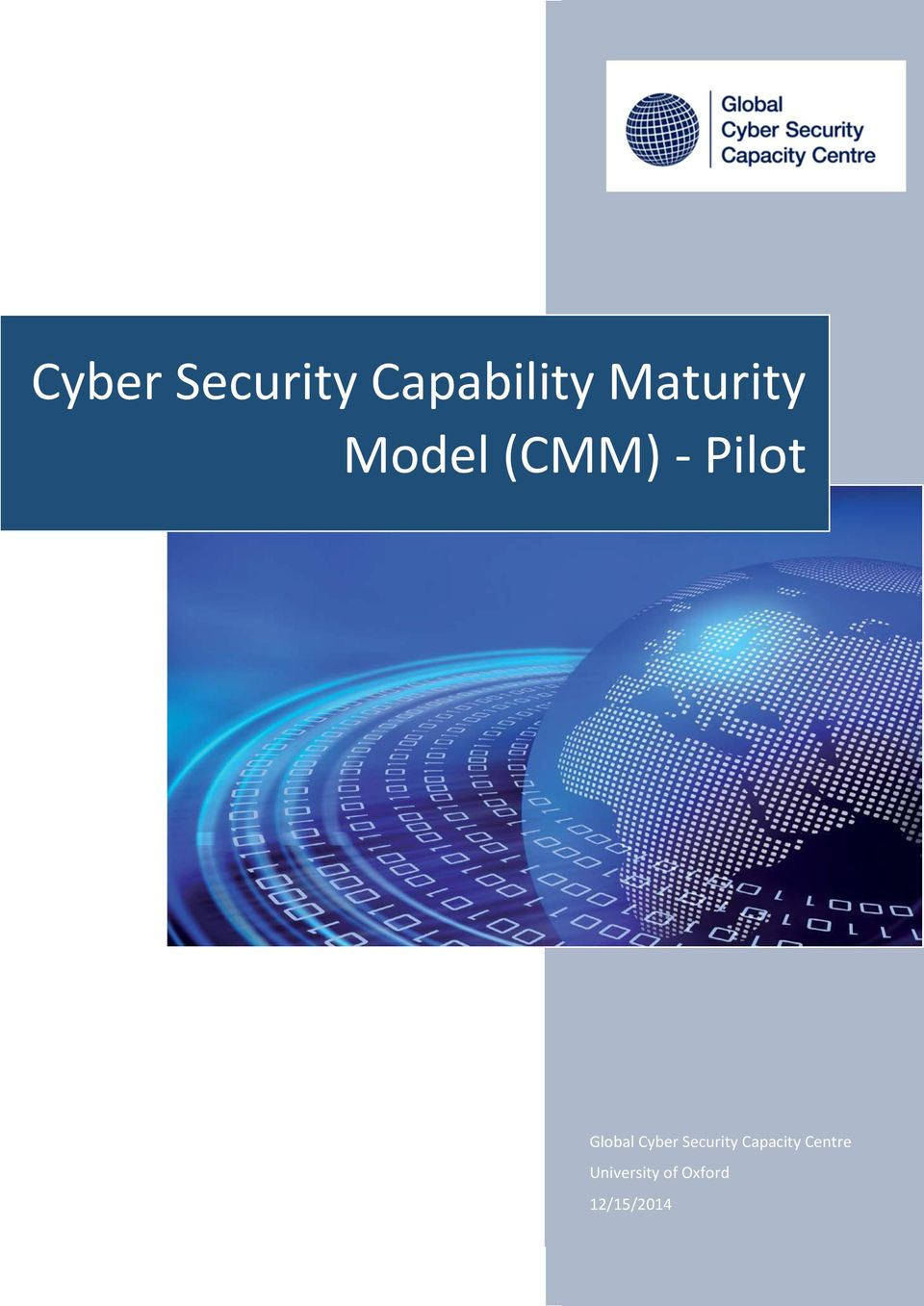 Global Cyber Security Capacity