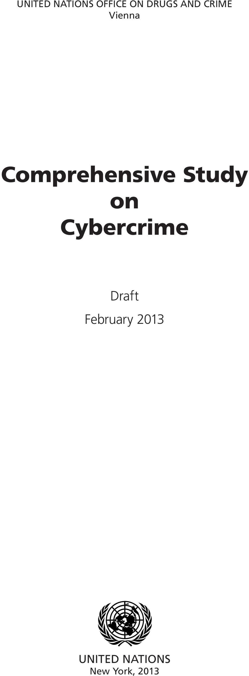 Study on Cybercrime Draft